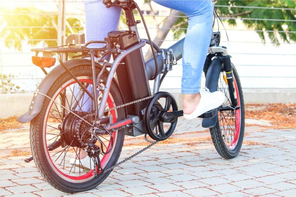 električno zložljivo kolo
